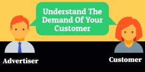 demand of the customer