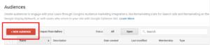 Analytics new audience
