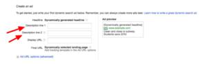 Dynamic Search Ads