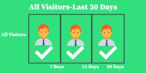 Remarketing Set Up 30 Day Audience