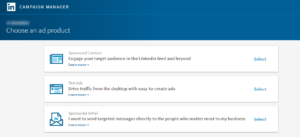 LinkedIn Ads Types